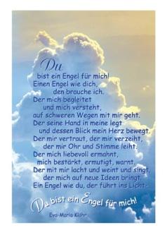 Gedicht engel sein